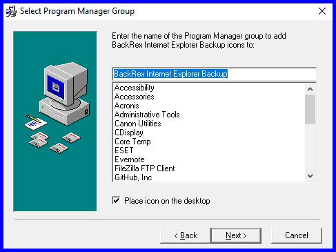 Backup-IE